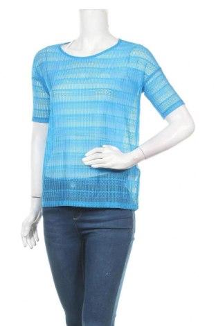 Дамска блуза Vero Moda, Размер S, Цвят Син, 95% полиамид, 5% еластан, Цена 3,00лв.
