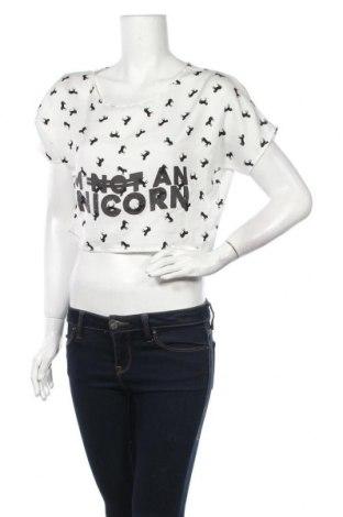 Γυναικεία μπλούζα Vert De Rage, Μέγεθος S, Χρώμα Λευκό, Πολυεστέρας, Τιμή 3,41€