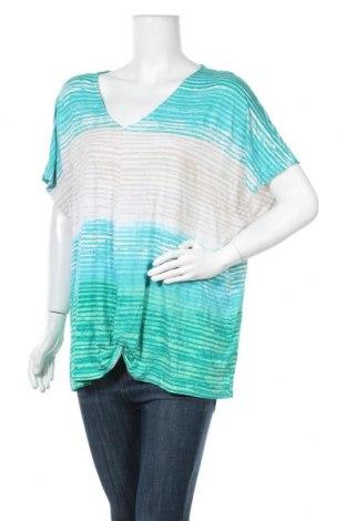 Γυναικεία μπλούζα W. Lane, Μέγεθος XXL, Χρώμα Πολύχρωμο, Βισκόζη, ελαστάνη, Τιμή 10,39€