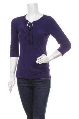 Дамска блуза Worthington Stretch, Размер S, Цвят Лилав, 95% полиестер, 5% еластан, Цена 5,99лв.