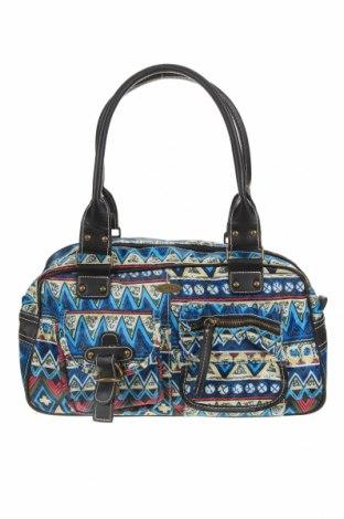 Дамска чанта, Цвят Многоцветен, Текстил, Цена 24,57лв.