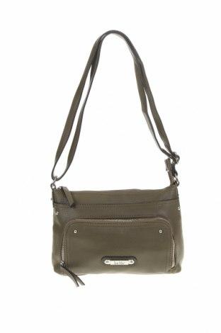 Дамска чанта Nicole Miller, Цвят Зелен, Еко кожа, Цена 18,90лв.