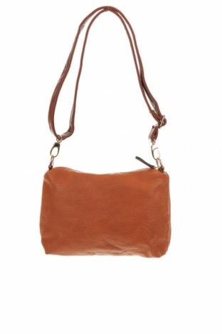 Дамска чанта, Цвят Кафяв, Еко кожа, Цена 17,64лв.