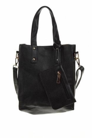 Дамска чанта, Цвят Черен, Еко кожа, Цена 18,90лв.