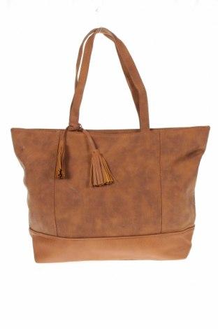 Дамска чанта, Цвят Кафяв, Еко кожа, Цена 20,95лв.
