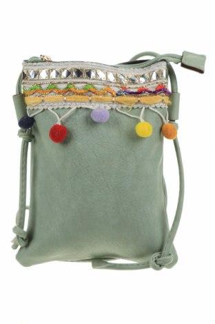 Дамска чанта, Цвят Зелен, Еко кожа, Цена 17,96лв.