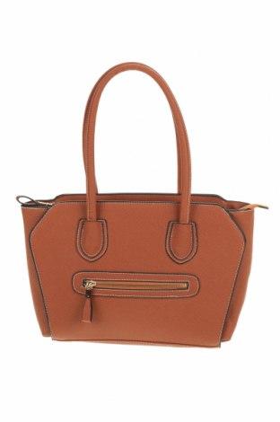 Дамска чанта, Цвят Кафяв, Еко кожа, Цена 24,40лв.