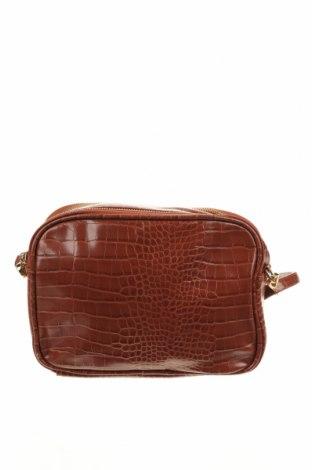 Дамска чанта Anko, Цвят Кафяв, Еко кожа, Цена 15,02лв.