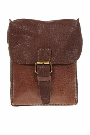 Дамска чанта Ashwood, Цвят Кафяв, Естествена кожа, Цена 58,80лв.