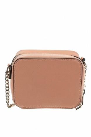 Дамска чанта Bershka, Цвят Розов, Еко кожа, Цена 24,00лв.