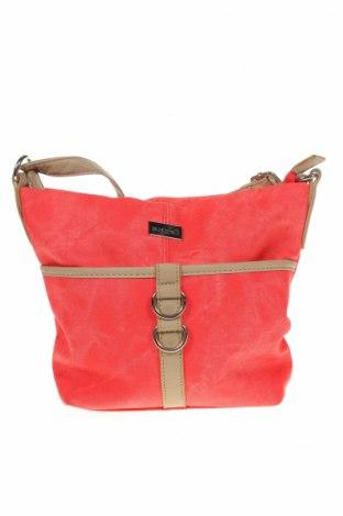 Дамска чанта Cabrelli, Цвят Розов, Еко кожа, Цена 18,74лв.