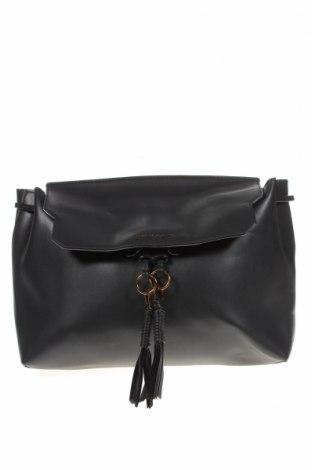 Дамска чанта Charles & Keith, Цвят Черен, Еко кожа, Цена 22,68лв.