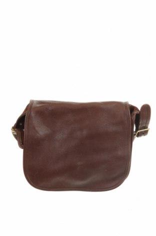 Дамска чанта Coach, Цвят Кафяв, Естествена кожа, Цена 91,04лв.