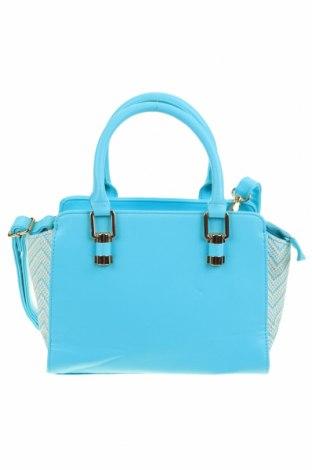 Дамска чанта Colette By Colette Hayman, Цвят Син, Еко кожа, текстил, Цена 23,69лв.