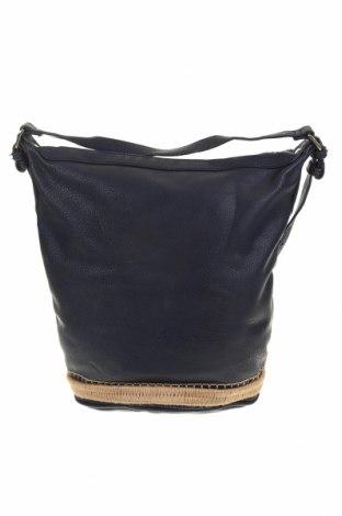 Γυναικεία τσάντα Country Road, Χρώμα Μπλέ, Δερματίνη, Τιμή 50,66€