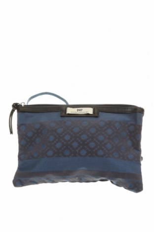 Дамска чанта Day Birger Et Mikkelsen, Цвят Син, Текстил, Цена 32,86лв.