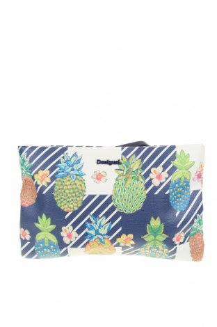 Дамска чанта Desigual, Цвят Многоцветен, Еко кожа, Цена 81,75лв.