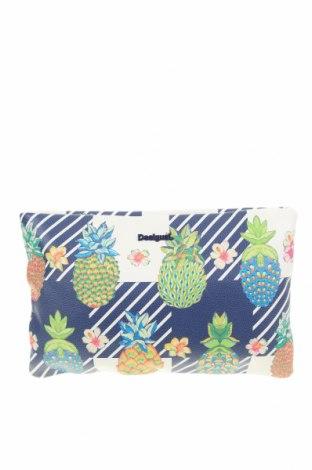 Дамска чанта Desigual, Цвят Многоцветен, Еко кожа, Цена 78,00лв.