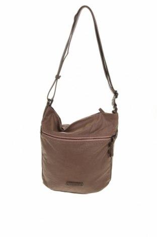 Дамска чанта Esprit, Цвят Кафяв, Текстил, еко кожа, Цена 23,10лв.
