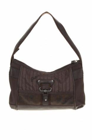 Дамска чанта Esprit de Corp, Цвят Кафяв, Текстил, еко кожа, Цена 9,56лв.