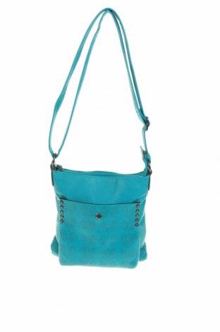 Дамска чанта Gina Benotti, Цвят Зелен, Еко кожа, Цена 25,20лв.