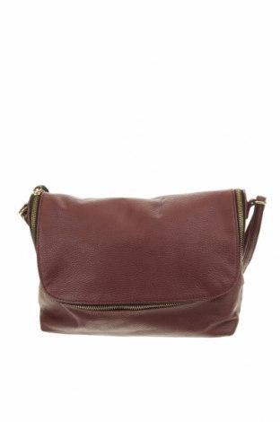 Дамска чанта H&M, Цвят Червен, Еко кожа, Цена 20,25лв.