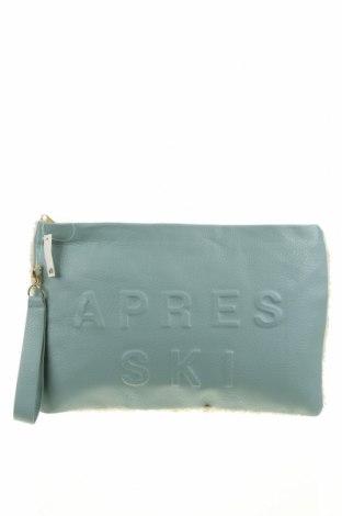 Дамска чанта H&M, Цвят Син, Еко кожа, текстил, Цена 15,60лв.