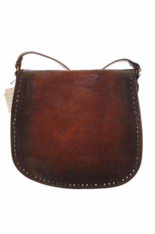 Γυναικεία τσάντα I Medici, Χρώμα Καφέ, Γνήσιο δέρμα, Τιμή 135,09€