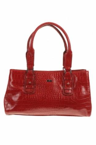 Дамска чанта JAG, Цвят Червен, Еко кожа, Цена 52,92лв.