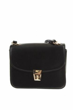 Дамска чанта Mango, Цвят Черен, Еко кожа, Цена 24,00лв.