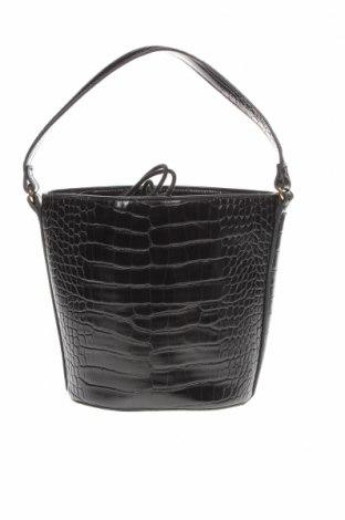 Дамска чанта Mango, Цвят Черен, Еко кожа, Цена 18,70лв.