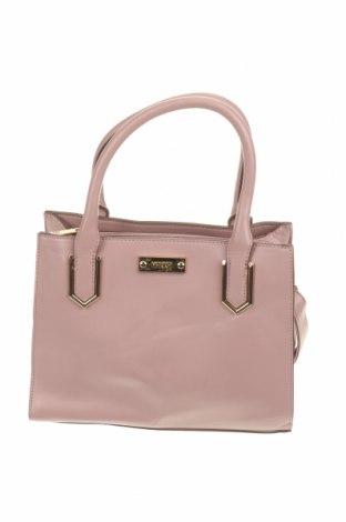 Дамска чанта Marikai, Цвят Пепел от рози, Еко кожа, Цена 32,55лв.