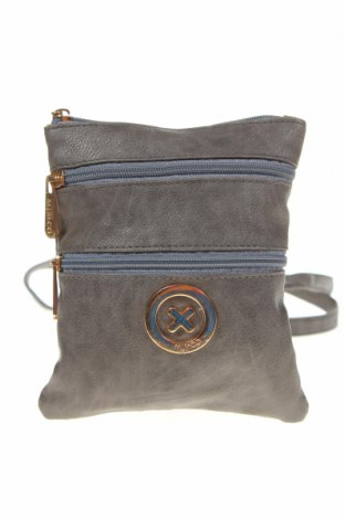 Дамска чанта Mimco, Цвят Сив, Еко кожа, Цена 28,67лв.