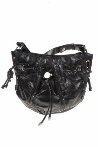 Дамска чанта Mimco, Цвят Черен, Естествена кожа, Цена 36,23лв.