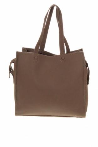Дамска чанта Nali, Цвят Кафяв, Еко кожа, Цена 27,30лв.
