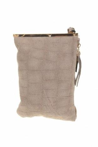Дамска чанта Oasis, Цвят Бежов, Естествена кожа, Цена 36,54лв.