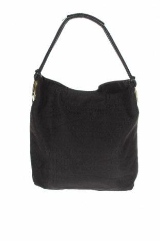 Дамска чанта Oroton, Цвят Черен, Текстил, естествена кожа, Цена 51,03лв.