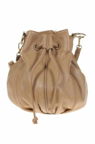 Дамска чанта Oroton, Цвят Бежов, Естествена кожа, Цена 112,35лв.