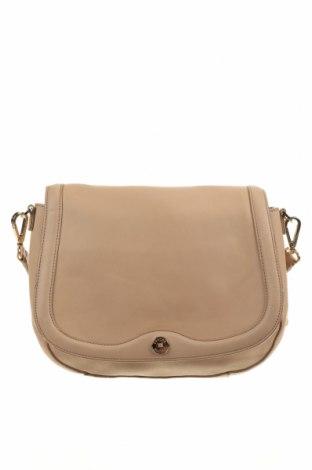 Дамска чанта Oroton, Цвят Бежов, Естествена кожа, Цена 46,62лв.