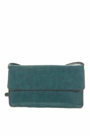 Дамска чанта Pieces, Цвят Зелен, Еко кожа, Цена 29,40лв.