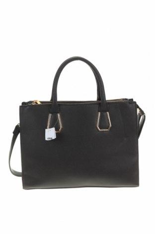 Дамска чанта Sinsay, Цвят Черен, Еко кожа, Цена 41,30лв.