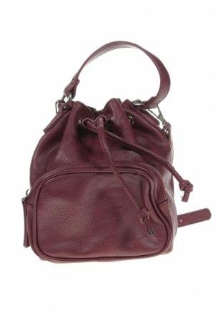 Дамска чанта Sportsgirl, Цвят Червен, Еко кожа, Цена 22,94лв.