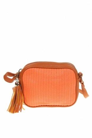 Дамска чанта Sportsgirl, Цвят Оранжев, Еко кожа, Цена 18,43лв.