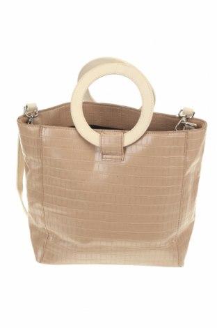 Дамска чанта Sussan, Цвят Бежов, Еко кожа, Цена 19,37лв.