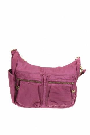 Дамска чанта Travelon, Цвят Лилав, Текстил, Цена 23,94лв.