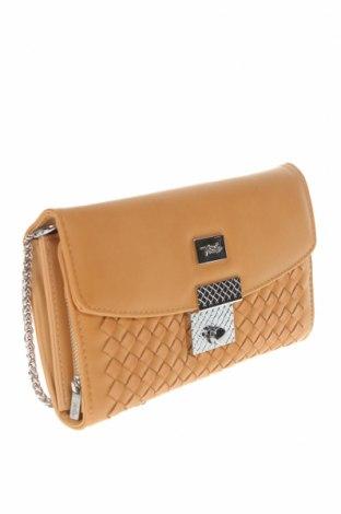 Дамска чанта Verde, Цвят Бежов, Еко кожа, Цена 19,76лв.