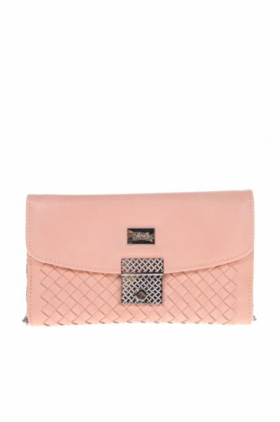 Дамска чанта Verde, Цвят Розов, Еко кожа, Цена 12,88лв.