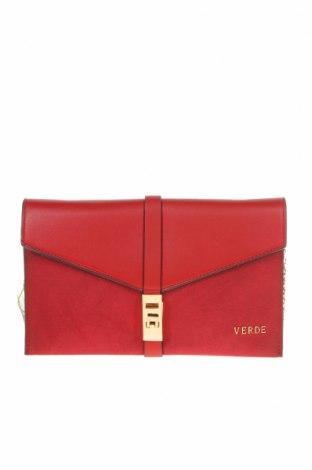 Γυναικεία τσάντα Verde, Χρώμα Κόκκινο, Δερματίνη, κλωστοϋφαντουργικά προϊόντα, Τιμή 16,70€