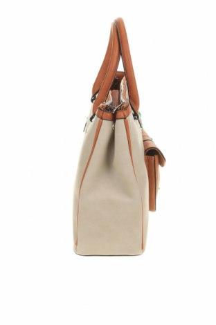 Дамска чанта Verde, Цвят Бежов, Еко кожа, Цена 34,50лв.