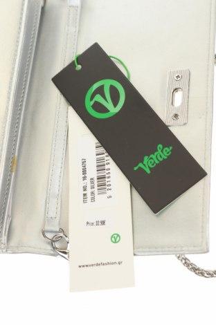 Γυναικεία τσάντα Verde, Χρώμα Γκρί, Δερματίνη, Τιμή 18,56€